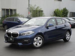 BMW 1シリーズ 118i ディーラー使用車 純正ナビ バックカメラ ETC 運転席パワーシート 障害物センサー パーキングアシスト ドライビングアシスト レーンディパーチャーウォーニング クロストラフィックウォーニング