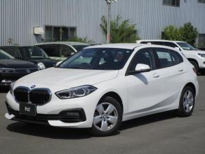 BMW 1シリーズ 118i ディーラー使用車 ナビ バックカメラ ETC パーキングアシスト LEDヘッドライト オートエアコン コーナーセンサー 置くだけ充電
