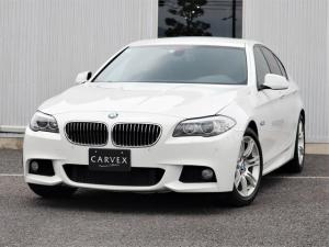 BMW 5シリーズ 528i Mスポーツパッケージ 9月はBMWセール月間!期間限定価格にてご案内さしあげております 左ハンドル ブラックレザー ツインパワーターボ クルーズコントロール bluetoothオーディオ TV