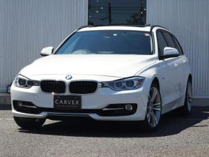 BMW 3シリーズ 328iツーリング スポーツ 9月はBMWセール月間!期間限定価格にてご案内さしあげております パノラマサンルーフ オートマチックテールゲート TV Bluetoothオーディオ バックカメラ クルーズコントロール