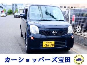 日産 モコ X TV付ナビ ドライブレコーダー ETC バッテリー新交換