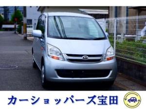 ダイハツ ムーヴ L 4WD 新品バッテリー 禁煙車 TV付ナビゲーション