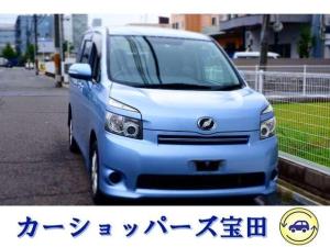 トヨタ ヴォクシー XL 4WD 両側パワスラ フルセグTVナビ ツインモニター
