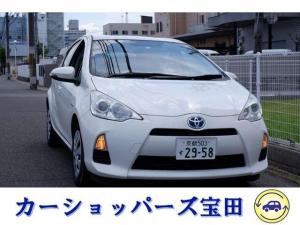 トヨタ アクア S TVバックカメラ付ナビ Bluetooth ワンオーナー禁煙車 ETC付
