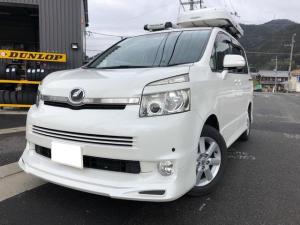 トヨタ ヴォクシー Z 4WD フルセグナビ フリップダウンモニター キャリア付