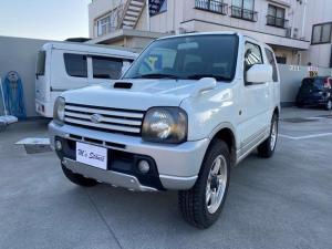 スズキ ジムニー ワイルドウインド/4WD/車検令和4年4月/キーレス/CD
