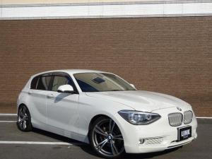 BMW 1シリーズ 116i スタイル ナビ 規格外19インチアルミ ローダウン