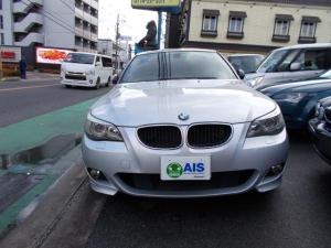 BMW 5シリーズ 525i Mスポーツパッケージ 純正ナビ ミラー型ETC 禁煙車