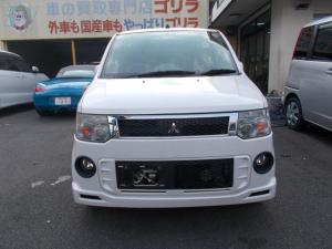 三菱 eKスポーツ RS ナビTV フルセグ バックカメラ ドライブレコーダー 禁煙車 エアロ ターボ車 HID