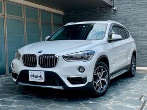 BMW X1 xDrive 18d Bluetooth 黒レザー ディーゼル HDDナビ アイドルストップ ETC パワーリヤゲート パワーシート スマートキー