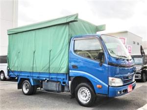 トヨタ ダイナトラック ロング ホロ パワーウィンドウ エアコン エアバッグ Wタイヤ