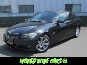 BMW 3シリーズ 325i Mスポーツ 走行48,000km 純正ナビ 純正ホイール ETC CDチェンジャー 電動パワーシート