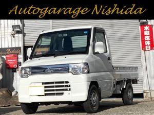 三菱 ミニキャブトラック VX-SE 4WD エアコン パワステ パワーウィンドウ 運転席エアバッグ