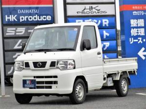 日産 NT100クリッパートラック DX 5MT 4WD