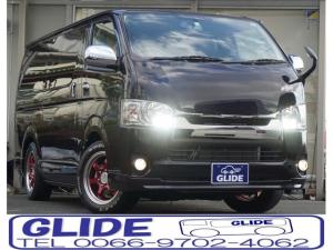 トヨタ レジアスエースバン S-GL ダークプライム 4WD 3.0Lディーゼルターボ