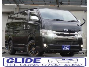 トヨタ ハイエースバン スーパーGL ダークプライム ベット ナビフルセグ ETC