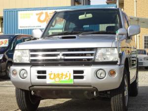三菱 パジェロミニ アクティブフィールドエディション 4WD ターボ ナビTV