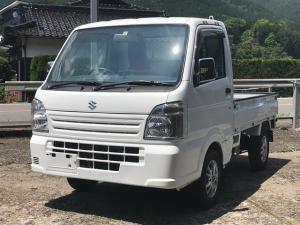スズキ キャリイトラック 4WD AC AT 軽トラック AW 2名乗り ホワイト