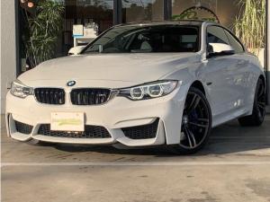 BMW M4 M4クーペ 純正オプション19インチアルミ ドライビングアシスト 可変バルブ 本革シート LEDヘッドライト コーナーセンサー 衝突軽減ブレーキ アクティブクルーズコントロール パワーシート コンフォートアクセス