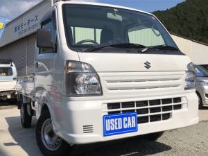 スズキ キャリイトラック KCエアコン・パワステ 4WD オートマ CDデッキ