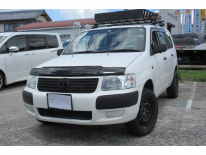 トヨタ サクシードバン U インチUP ルーフラック 外ナビTV 追加メーター 4WD 5速MT