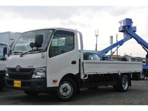 トヨタ ダイナトラック 平ボディー 積載量2t 全低床 ワイド ロング