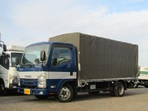 いすゞ エルフトラック  積載量2t 車両総重量5トン未満 新明和パワーゲート 全低床 ロング 5速MT バックカメラ 左電格ミラー