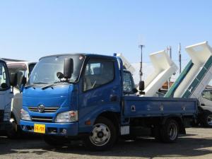 トヨタ ダイナトラック  平ボディー 積載量2t 低床 10尺 5速MT 荷台アオリロープ穴 荷台床板張り