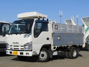 いすゞ エルフトラック  アルミ高アオリ 積載量2t 全低床 10尺 荷台床板張り 坂道発進補助装置 ディーゼル