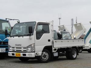 いすゞ エルフトラック  平ボディー 積載量1.5t 全低床 10尺 3方開 ETC 排出ガス浄化装置