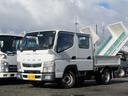 三菱ふそう/キャンター Wキャブ6人乗り積載量1500kgナビ4ナンバー