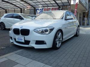 BMW 1シリーズ 116i Mスポーツ 純正OP18インチAW 純正ナビ ブラックキドニーグリル 社外ダウンサス