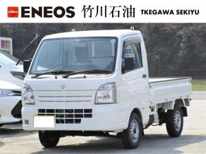 スズキ キャリイトラック KCエアコン・パワステ 4WD オートマ 3方開