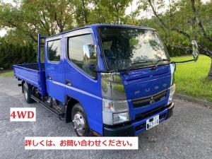 三菱ふそう キャンター  4WD Wキャブ AT6 ETC