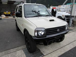 スズキ ジムニー XC サンドベージュ エンジン、ターボリビルト積替え車両 錆少ない 検査2年付き