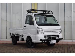 三菱 ミニキャブトラック M オリジナルカスタム グリルガード ハードカーゴ ルーフラック ガード 社外アルミホイール ホワイトレタータイヤ MT 4WD