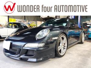 ポルシェ 911 911カレラS GT3仕様 Rスポイラー ビルシュタインダンパー H&Rサスペンション 19インチAW サンルーフ カーボンインテリアトリム 後期タイプLEDテール スポーツクロノ クルーズコントロール