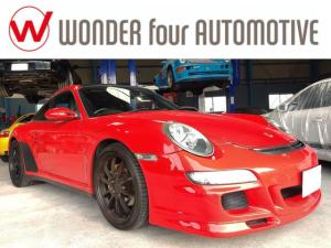 ポルシェ 911 911タルガ4 GT3仕様 右ハンドル レザーシート スポーツクロノ スポーツエキゾースト ETC バックカメラ