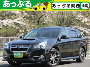 スバル レガシィツーリングワゴン 2.0GT DIT スペックBアイサイト ターボ 4WD アイサイト 1オーナー車 ハーフレザー 社外SDナビ ETC Bカメラ 電動パーキングブレーキ パドルシフト