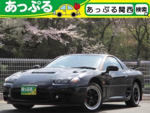 三菱 GTO ツインターボMR 6速MT 社外オーディオ パーソナルステアリング レーシングアルミ リヤウイング ETC 禁煙車