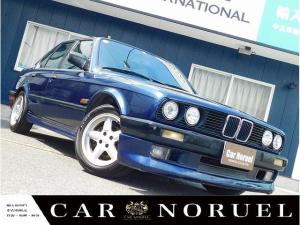 BMW 3シリーズ 320i Mテクニック仕様 トランクスポイラー エアロパーツ 正規輸入車 実走行車 左ハンドル ACシュニツァー15AW Mテクニックシ-ト パワーステアリング パワーウィンドウ 禁煙車両