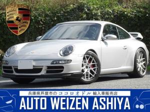 ポルシェ 911 911カレラ D車/左/革/ナビ/エアクリ/車高調/20AW