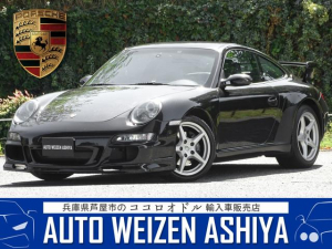 ポルシェ 911 911カレラ D車/左/6速MT/ワンオーナー/黒革/ナビ