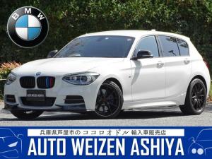 BMW 1シリーズ M135i 正規ディーラー車/右ハンドル/黒レザーシート/Mパフォーマンスパーツ/3Dデザインエアロ/デジタルプロフェッサー/純正ナビ バックカメラ ETC/レイズ18AW/カスタム車両