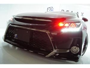 トヨタ マークX 250GFパケ新品Gs仕様新品赤玉ヘッドライト新アルミ車高調