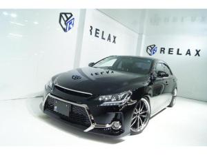 トヨタ マークX 250G リラックスセレクション・ブラックリミテッド 特別仕様車ブラックLTD 新品Gs仕様 新品19ホイール 新品タイヤ 新品車高調 新品自動演出ヘッドライト 新品LEDヘッドライト