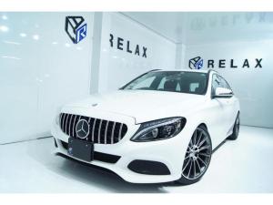 メルセデス・ベンツ Cクラスステーションワゴン C180ステーションワゴン 新品パナメリカーナ仕様 新品19インチホイール 新品タイヤ 新品フルタップ式車高調減衰24段調整 Bluetooth対応マルチナビ ドライブレコーダー ETC