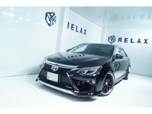 トヨタ カムリ ハイブリッド Gパッケージ 新品スピンドルバンパー 新品シーケンシャルヘッドライト 新品BLIZ車高調 新品19ホイール 新品タイヤ