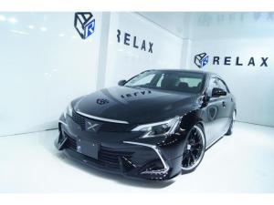 トヨタ マークX 250G Fパッケージ 新品モデリスタ 新品19ホイール 新品タイヤ 新品車高調 新品ヘッドライト 社外ナビ ETC