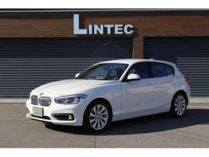 BMW 1シリーズ 118i セレブレーションエディション マイスタイル ディーラー車 400台限定 特別装備 17インチアルミホイール モール.キドニーグリルクローム ブラック&シルバーインテリアトリム ブラックレザーシート 前席シートヒータ インテリジェントセーフティ